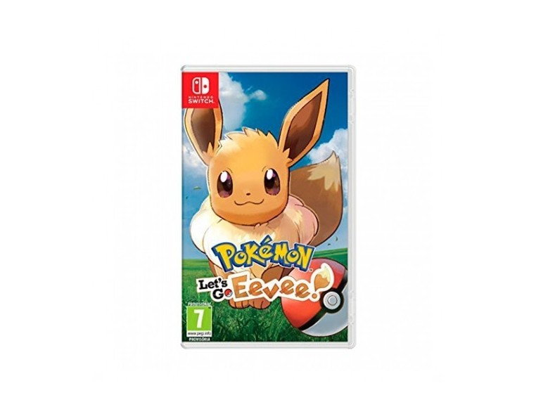 Pokémon Lets Go Eevee para Nintendo Switch