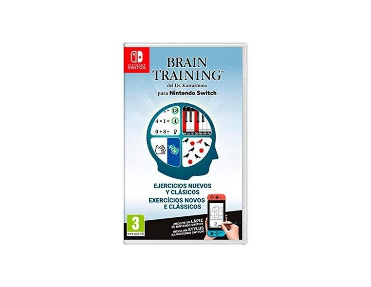 Brain Training Dr. Kawashima para Nintendo Switch