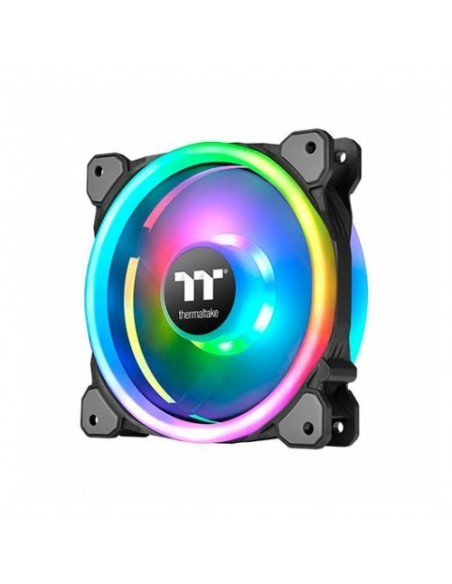 VENT 120X120 THERMALTAKE RIING TRIO 12 RGB TT 3UDS PACK 3 UNDS/VENT 120X120MM RGB/1500 RPM CL-F072-PL12SW-A