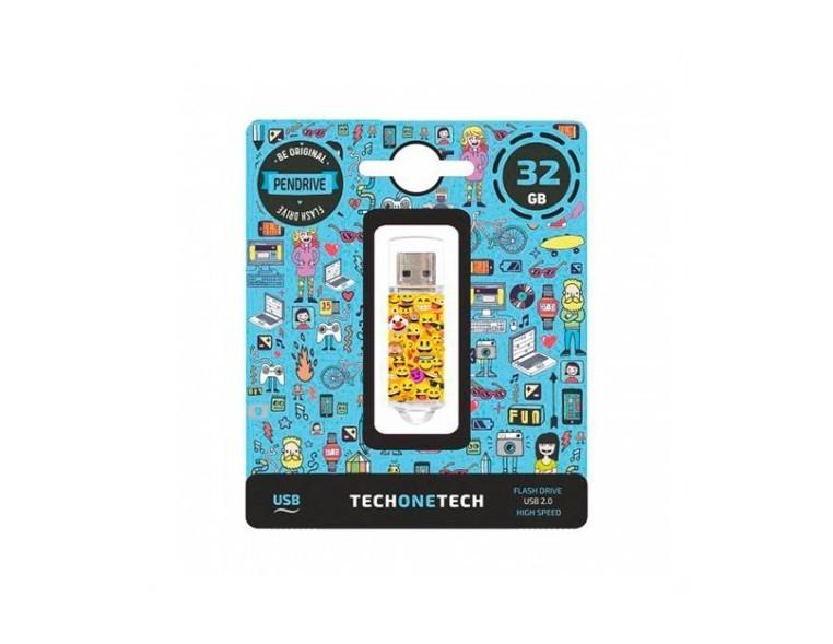 Memoria USB 32 GB Tech One Emojis
