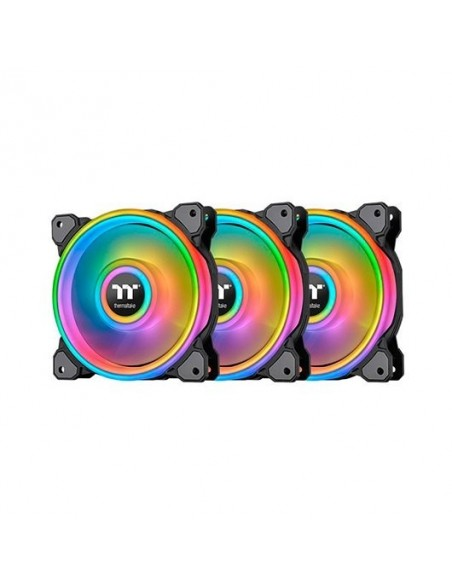 Ventilador Thermaltake Ring Quad RGB Pack 3 Unidades