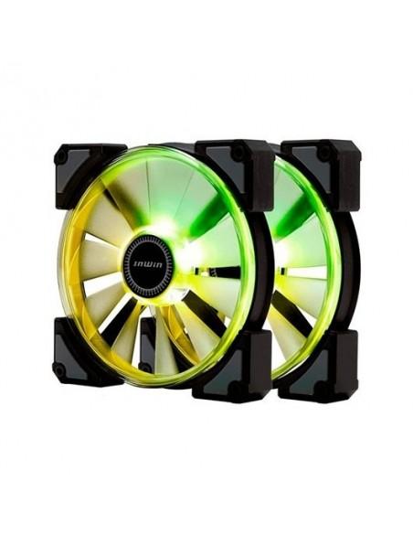 Ventilador In Win Crown A-RGB Pack 2 Unidades