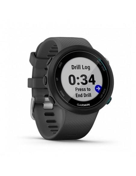 SMARTWATCH GARMIN SPORT WATCH GPS SWIM 2 GRIS F.CARDIACA/GPS/GLONASS/42MM/BLUETOOTH/5 ATM 010-02247-10