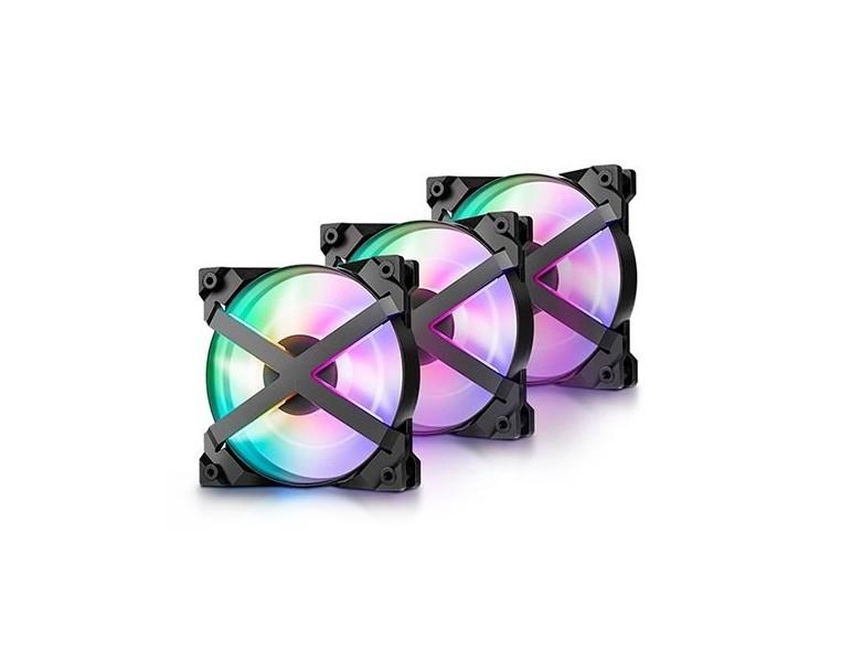 Ventilador Deepcool MF120 GT A-RGB Controlador + Pack de 3 120X120mm