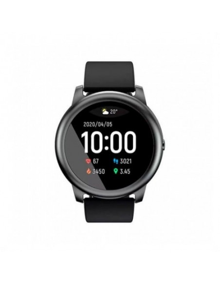 SMART WATCH HAYLOU SOLAR LS05 NEGRO XIAOMI YOUPIN/BTH 5.0/ANDROID/IOS/IP68/SENS. CARD LS05