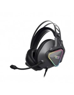 AURICULARES MICRO KEEP OUT GAMING HXPRO+ 7.1 NEGRO 7.1 EFFECT/RGB LIGHTING/PC/PS4 HXPRO+
