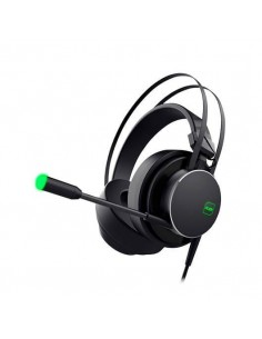 AURICULARES MICRO KEEP OUT GAMING HX801 7.1 NEGRO 7.1 EFFECT/RGB LIGHTING/PC/PS4 HX801