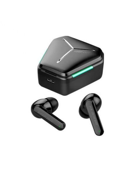 AURICULARES MICRO KEEP OUT EARBUDS HX-AVENGER NEGR BLUETOOTH 5.0/HASTA 5H/MIC. INTERNO/TIPO C/TACTIL HX-AVENGER
