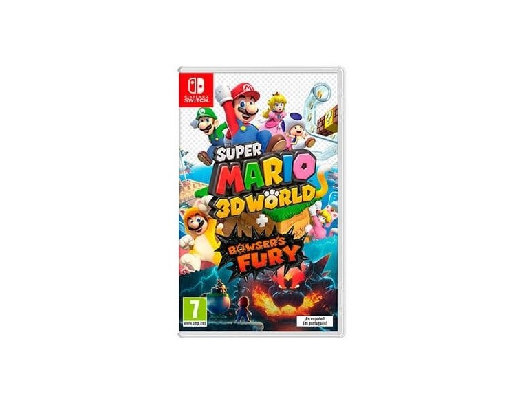 JUEGO NINTENDO SWITCH SUPER MARIO 3D WORLD + BROWSER S FURY 10004595