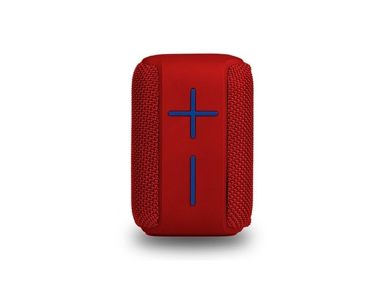 ALTAVOZ NGS SPEAKER ROLLER COASTER RED 10W/10H BATERIA/MICRO SD/BT 5.0/AUX IN/IMPERMEABLE ROLLERCOASTERRED