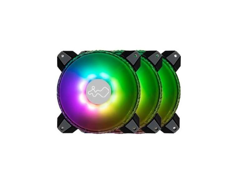 Ventilador In Win Saturm Asn140 Pack de 3 A-RGB