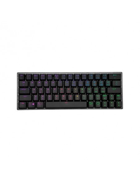 TECLADO MECANICO COOLERMASTER CK 622 RED SWITCH SPACE GRAY/RGB/USB/BLUETOOTH 4.0 SK-622-GKTR1-SP