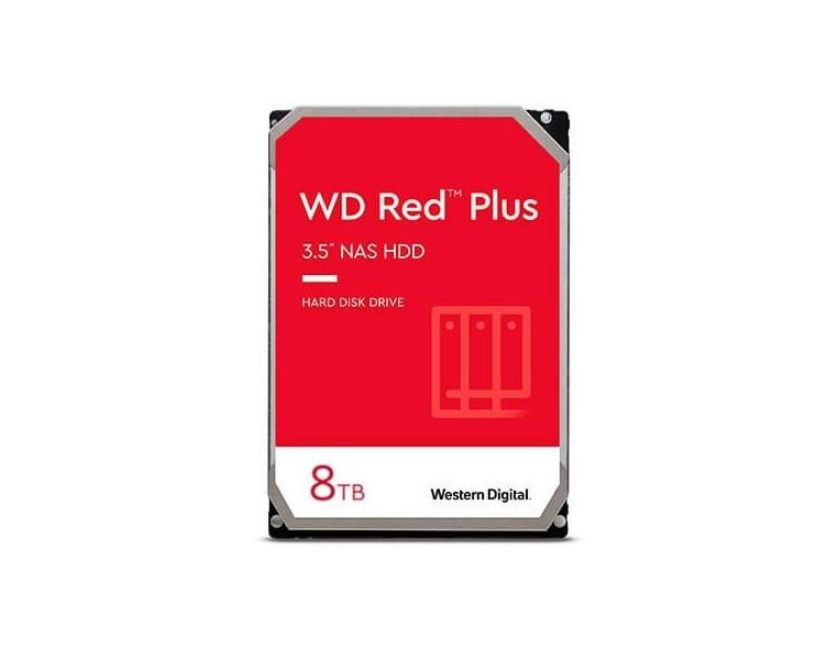 DISCO DURO 3.5  8TB SATA3 WD 256MB NAS RED PLUS