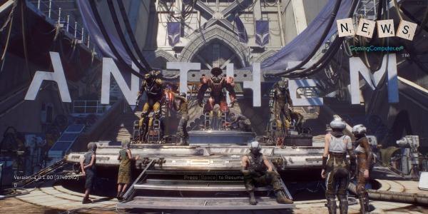 Anthem, el nuevo título de EA