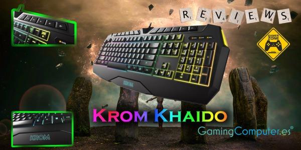 Review: Teclado Nox Krom Khaido